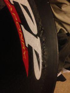 Zipp wheel crack